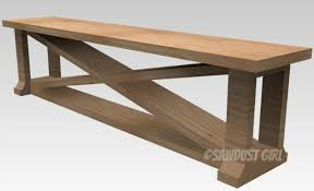 Build A Dining Bench With These Free Plans