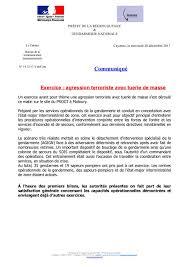 bureau d ordre progt de remire montjoly exercice gendarmerie de guyane
