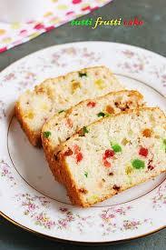 Tutti frutti cake recipe eggless vanilla cake recipe