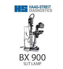 Haag Streit Slit Lamp by Slit Lamp Bx 900 Rocol
