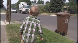 100 Garbage Trucks Videos For Kids Twoyearold Brody Cannot Contain His Excitement When Garbage Man