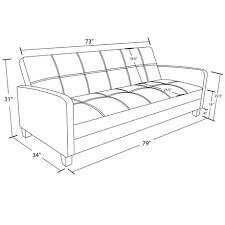 dhp delaney sofa sleeper black walmart canada