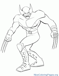 Awesome Superheroes Coloring Pages To Print