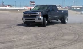 Chevy Silverado 3500HD Dually Donuts Is One Part Awkward, Two Parts ...