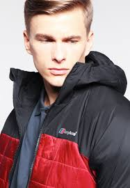 berghaus reversa outdoor jacket jet black red dahlia men rain