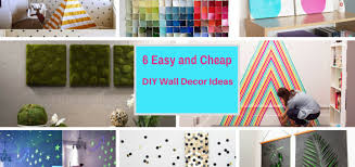 easy and cheap decorations 6 extremely easy and cheap diy wall decor ideas part 4