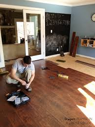 Laminate Flooring Bubbles Due To Water by Why We Chose Laminate Flooring For Our Home Designertrapped Com