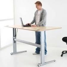 Jesper Prestige Sit Stand Desk by Ergo Elements Adjustable Height Standing Desk With Electric Push