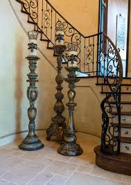 Donna Decorates Dallas Age by Impressive Tall Candle Stands For Foyer By Designer Donna Moss