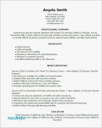 13 Stylish Resume Examples For Pre K Teachers Youll Love