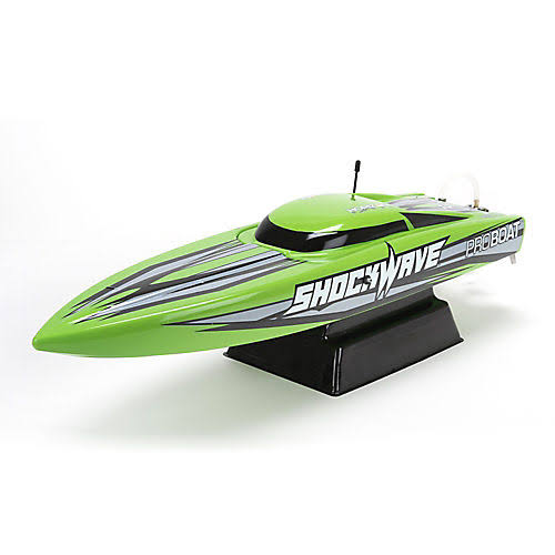 Pro Boat Shockwave Remote Control Boat - Green