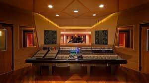 The Control Room Of A Nashville Recording Studio