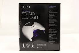 amazon com opi studio led light beauty