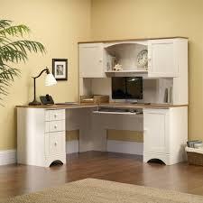 Writing Desk With Hutch Walmart by Sauder Harbor View Hutch Antiqued White Walmart Com