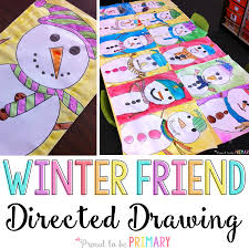 Do You Love Teaching Directed Drawings In Your Primary Classroom Kids Will LOVE The Winter