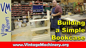 beginning woodworking building a simple bookcase youtube