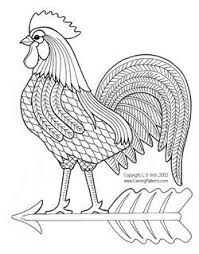 applique patterns of chicken and roosters www carvingpatterns