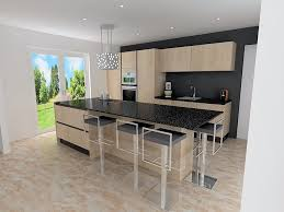 cuisine alu et bois cuisine en bois clair modele de table de cuisine en bois modele de