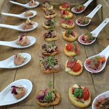berry canapes canapes canapés seasonal local delicious caterers