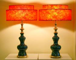 Stiffel Table Lamp Shades by Pair Of Vintage Stiffel Pottery Lamps At 1stdibs