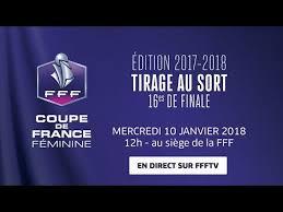 siege de la fff coupe de féminine 16es de finale le tirage au sort le