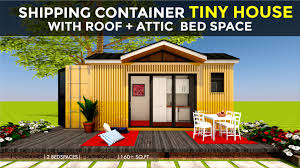 100 House Plans For Shipping Containers Container Tiny Design With An Attic Floor Plans