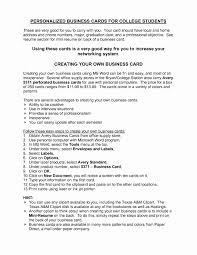 Sample Resume Summary For College Student Unique