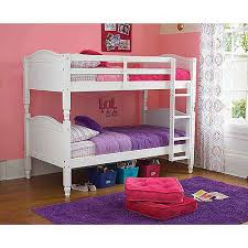bunk beds kids mattresseskylie twin over twin white bunk bed with