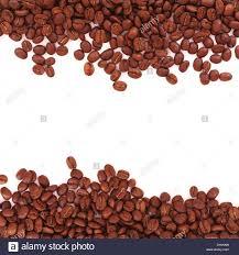 Coffee Beans Border Stock Photo 68242317