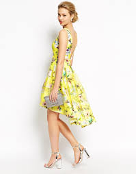 image 1 of chi chi london full prom high low skater dress in