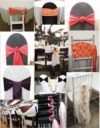 Diy Chair Sash Buckles by 86 Best Weddings Chair Sash Ideas Images On Pinterest Wedding