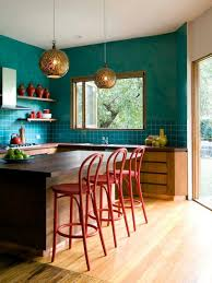 Red And Turquoise Kitchen Decor Designs