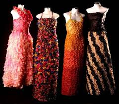 Creative But Weird Dresses Made Out Of Waste And Other Alternates 10