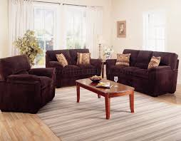 100 Modern Living Room Couches Corduroy Fabric 502521 Dark Chocolate
