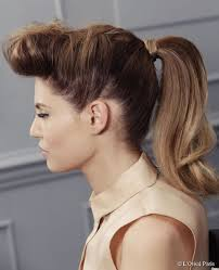 Rockabilly Ponytail We Love Vintage Hairstyles