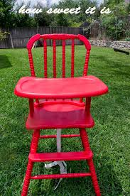 how sweet it is high chair re do jenny lind