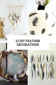 13 Diy Feather Decorations Cover