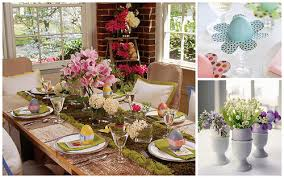 Luxury Easter Brunch Table Decorations