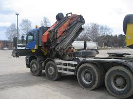 100 Truck Tracker MAN 41460 With Hydro Manipulator For Sale Retrade