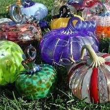 Blown Glass Pumpkins Boston by Great Glass Pumpkin Patch Returns Oct 5 6 Mit News