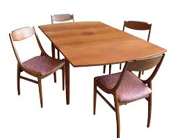 1960s Danish Modern Drexel Drop Leaf Dining Set - 5 Pieces Conner Drop Leaf Counter Height Ding Set Kinsey 5 Piece John Lewis Partners Adler Butterfly Folding Table And Four Chairs Fniture Double Oval With Wheels Small Diing Table Smerizing Folding Ding Tables For Stuman Medium Brown Pc Round Duncan Fyfe Style Sold Contact Custom Orders Leaf 4 Chairs Stored Vintage Shabby Chic Rustoleum Chalk White Distressed 2 Vancouver Pce Suite Rest Easy