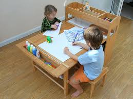Toddler Art Desk And Chair by Kids Wooden Art Desk Art Desk With Storage Toddler Art Table With