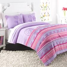 Wayfair Kids Bedding by Charming 3pc Kids Floral Bedding 100pct Cotton Material Pink Green