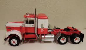 100 Model Semi Truck Kits Kenworth W925 Conventional Tractor Plastic Kit