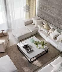 pur weißes wohnzimmer ecru kombination escksofa weißes