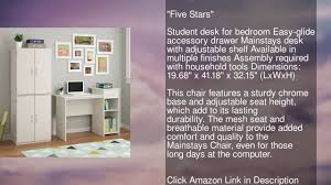 Mainstays Desk Chair Gray by Mainstays Student Desk White White Youtube