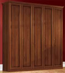 details zu schlafzimmer schrank nussbaum massivholz drehtüren klassische italienische möbel
