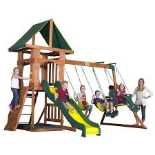 Amazon.com: Backyard Discovery Santa Fe All Cedar Wood Playset ... Backyards Gorgeous Backyard Wooden Swing Sets Ideas Discovery Montpelier All Cedar Playset30211com The Set Accsories Monticello Walmart Itructions Big Appleton Wood Toys Photo With Amazing Unbeatable For Solid Fun Image Happy Kidsplay Clearance Playsets