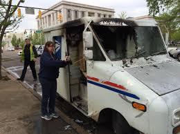 100 Postal Truck Fire Mail Truck Fire WBBJ TV