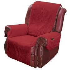 Stretch Suede Wing Chair Recliner Slipcover by Recliner Slipcover Ebay